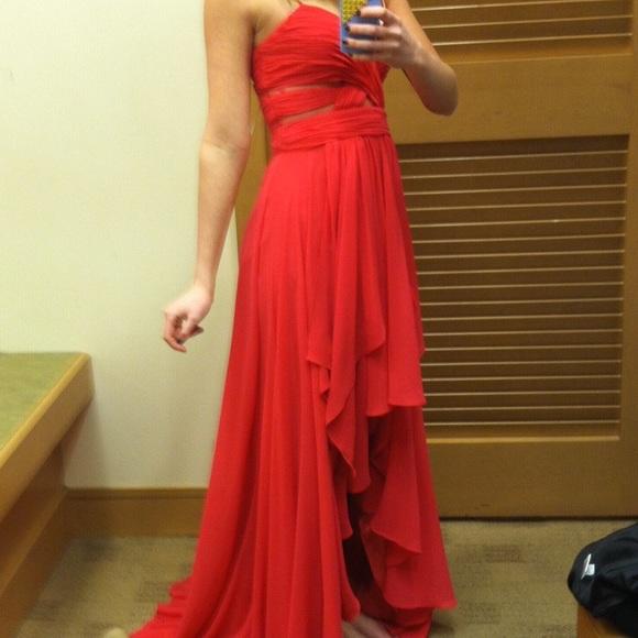 Cache Dresses | Dark Pink Prom Gown | Poshmark